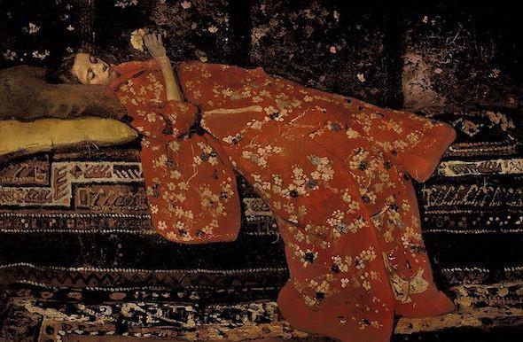 Les jeunes filles en kimono de George Breitner