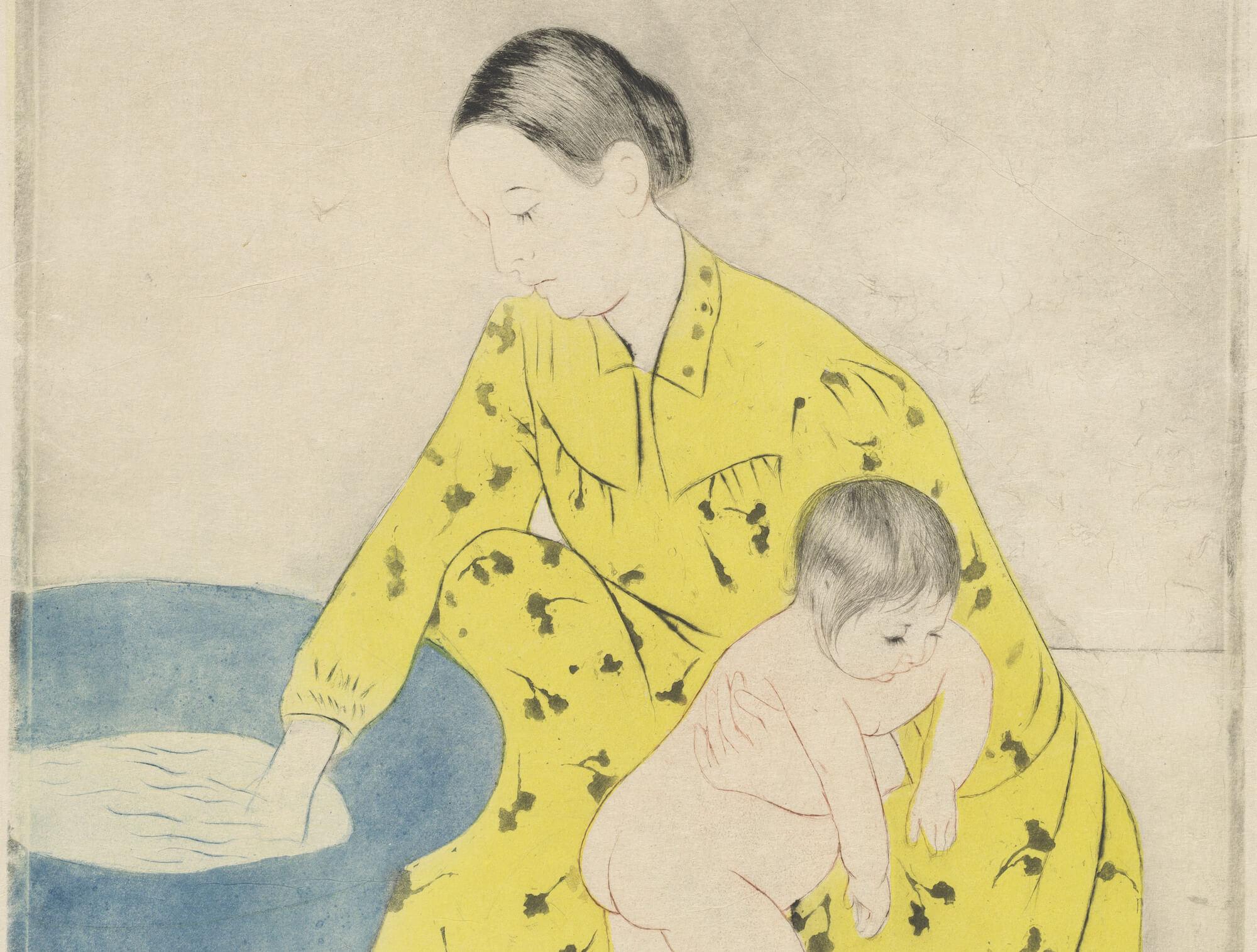 Mary Cassatt : le défi de l'estampe japonaise