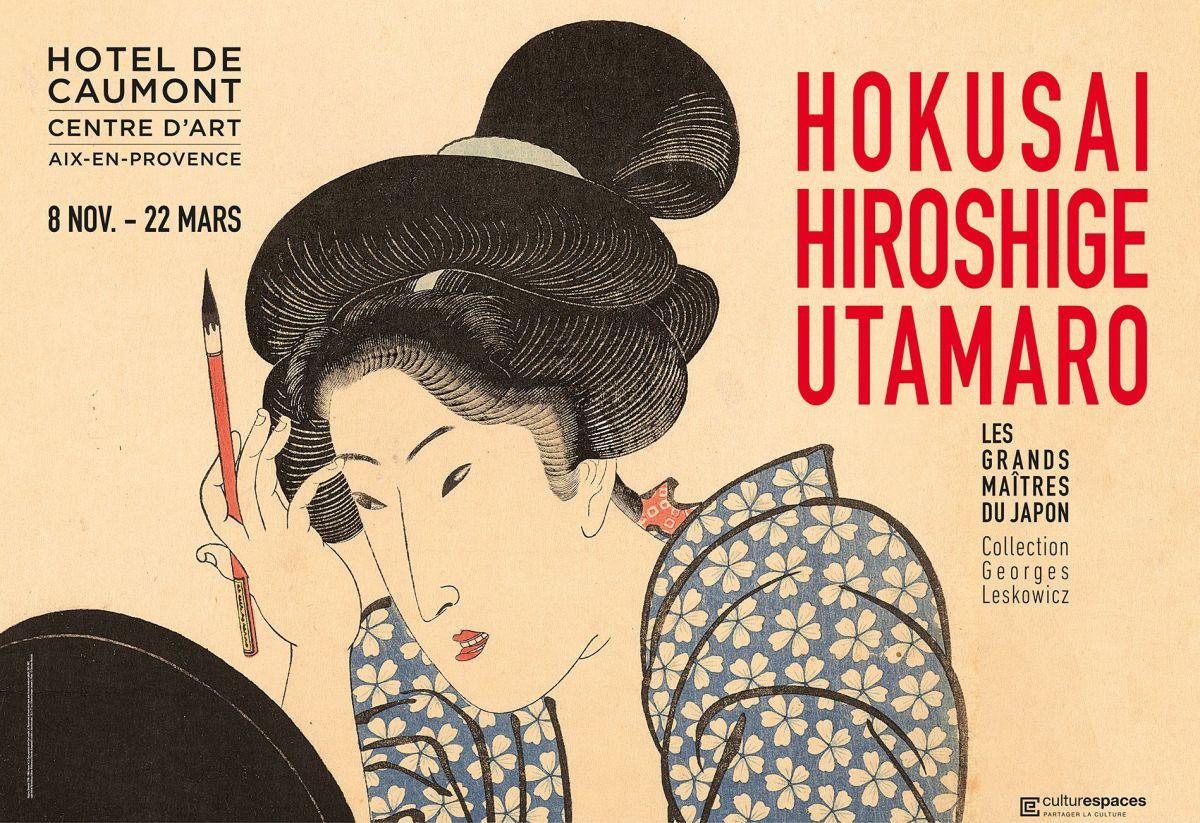 Hokusai, Hiroshige, Utamaro : Les grands maîtres du Japon