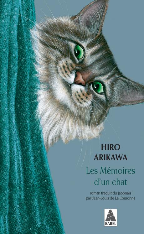 """Les Mémoires d'un chat"" de Hiro Arikawa"